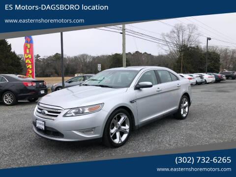 2011 Ford Taurus for sale at ES Motors-DAGSBORO location in Dagsboro DE