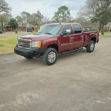 2013 GMC Sierra 2500HD for sale at MOTORSPORTS IMPORTS in Houston TX