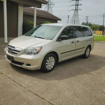 2005 Honda Odyssey for sale at MOTORSPORTS IMPORTS in Houston TX