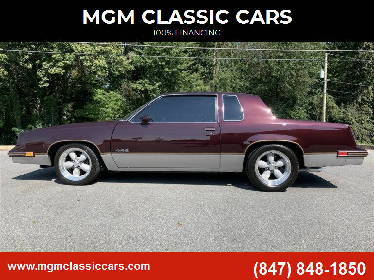 1986 Oldsmobile 442 for sale at MGM CLASSIC CARS in Addison, IL