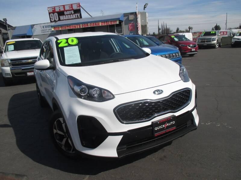 2020 Kia Sportage for sale at Quick Auto Sales in Modesto CA
