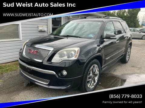 2012 GMC Acadia for sale at Sud Weist Auto Sales Inc in Maple Shade NJ