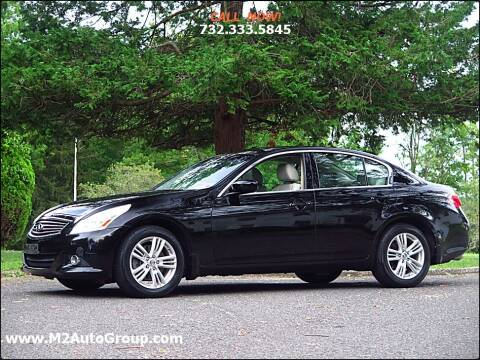 2011 Infiniti G25 Sedan for sale at M2 Auto Group Llc. EAST BRUNSWICK in East Brunswick NJ