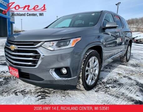 2020 Chevrolet Traverse for sale at Jones Chevrolet Buick Cadillac in Richland Center WI