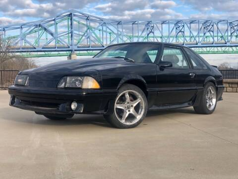 1989 Ford Mustang for sale at Greenup Avenue Auto Sales LLC in Ashland KY