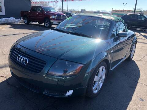 2001 Audi TT for sale at ROUTE 6 AUTOMAX in Markham IL