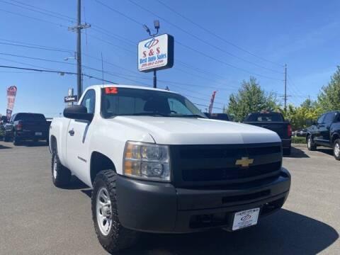 2012 Chevrolet Silverado 1500 for sale at S&S Best Auto Sales LLC in Auburn WA