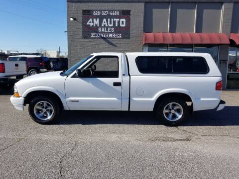 2000 Chevrolet S-10 for sale at 4M Auto Sales | 828-327-6688 | 4Mautos.com in Hickory NC