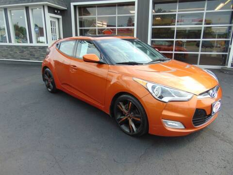 2012 Hyundai Veloster for sale at Akron Auto Sales in Akron OH