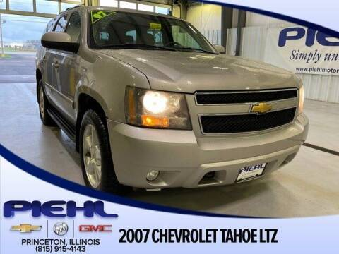 2007 Chevrolet Tahoe for sale at Piehl Motors - PIEHL Chevrolet Buick Cadillac in Princeton IL