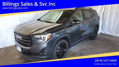 2019 GMC Terrain for sale at Billings Sales & Svc Inc in Clyde OH