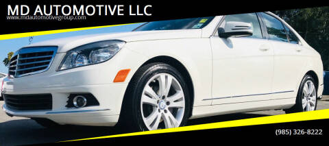 2010 Mercedes-Benz C-Class for sale at MD AUTOMOTIVE LLC in Slidell LA