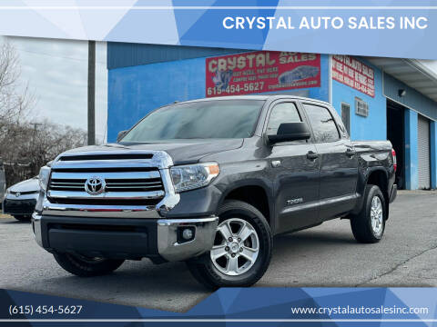 2017 Toyota Tundra for sale at Crystal Auto Sales Inc in Nashville TN