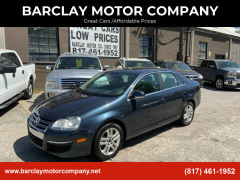 2007 Volkswagen Jetta for sale at BARCLAY MOTOR COMPANY in Arlington TX