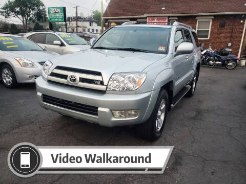2003 Toyota 4Runner for sale at Kar Connection in Little Ferry NJ