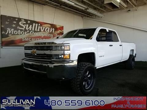 2015 Chevrolet Silverado 3500HD for sale at SULLIVAN MOTOR COMPANY INC. in Mesa AZ