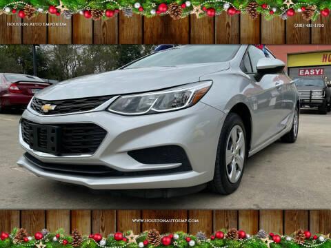 2017 Chevrolet Cruze for sale at Houston Auto Emporium in Houston TX