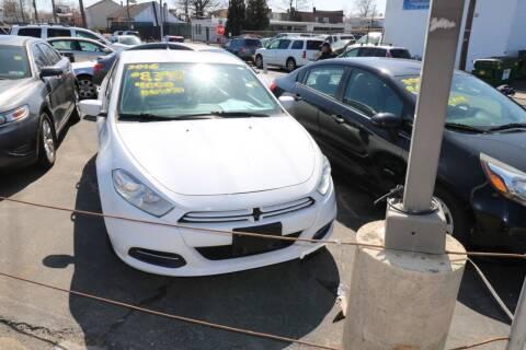 2016 Dodge Dart for sale at Urglavitch Auto Sales of NJ in Trenton NJ