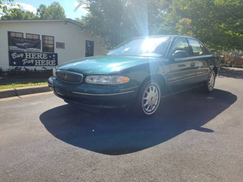 1999 Buick Century for sale at TR MOTORS in Gastonia NC