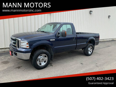 2006 Ford F-350 Super Duty for sale at MANN MOTORS in Albert Lea MN