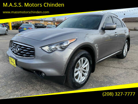 2010 Infiniti FX35 for sale at M.A.S.S. Motors Chinden in Garden City ID