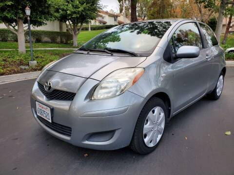 2011 Toyota Yaris for sale at E MOTORCARS in Fullerton CA