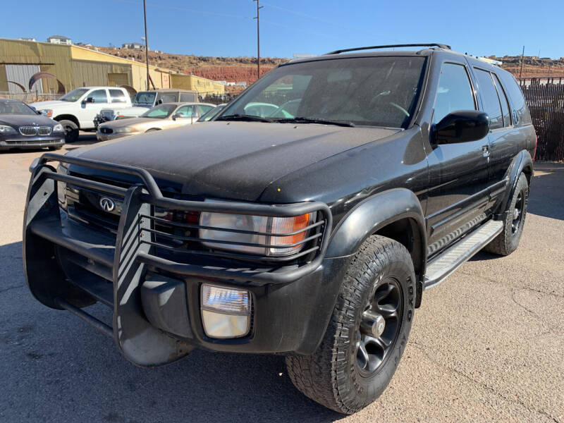 2000 Infiniti QX4 for sale at Car Works in Saint George UT