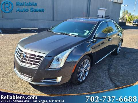 2013 Cadillac XTS for sale at Reliable Auto Sales in Las Vegas NV