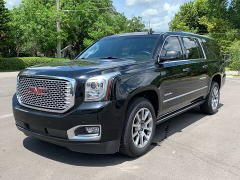 2015 GMC Yukon XL for sale at LUXURY AUTO MALL in Tampa FL