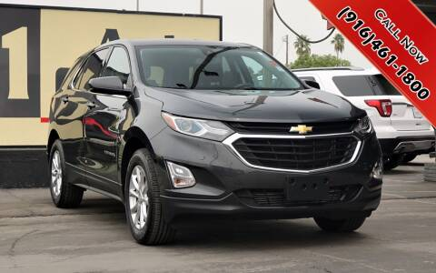 2020 Chevrolet Equinox for sale at H1 Auto Group in Sacramento CA