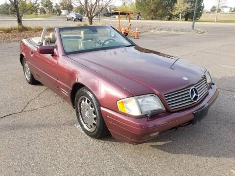 1997 Mercedes-Benz SL-Class for sale at Red Rock's Autos in Denver CO