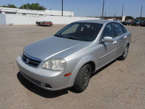 2007 Suzuki Forenza for sale at AUGE'S SALES AND SERVICE in Belen NM