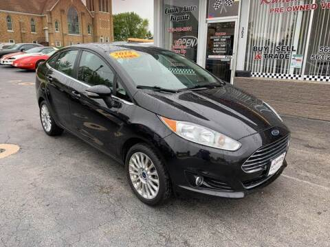 2015 Ford Fiesta for sale at KUHLMAN MOTORS in Maquoketa IA