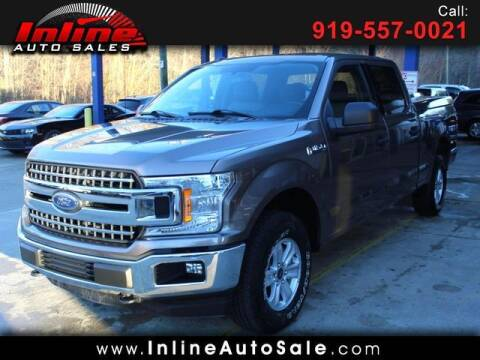 2018 Ford F-150 for sale at Inline Auto Sales in Fuquay Varina NC