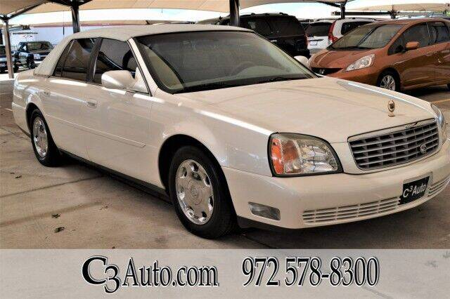 2002 Cadillac DeVille for sale in Plano, TX