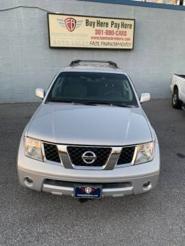 2007 Nissan Pathfinder for sale at Fuentes Brothers Auto Sales in Jessup MD