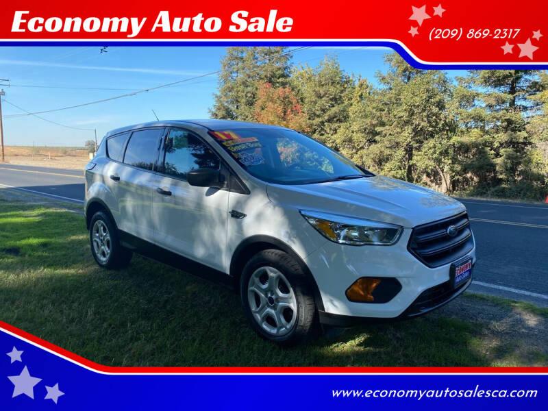 2017 Ford Escape for sale at Economy Auto Sale in Modesto CA