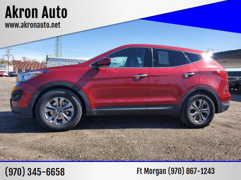 2015 Hyundai Santa Fe Sport for sale at Akron Auto in Akron CO
