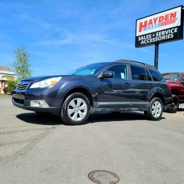 2012 Subaru Outback for sale at Hayden Cars in Coeur D Alene ID