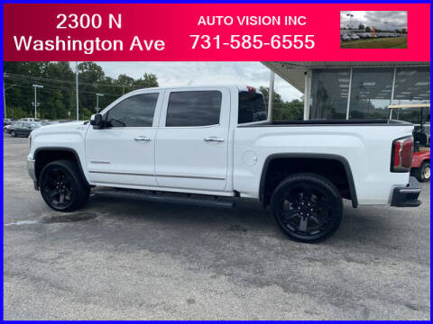 2017 GMC Sierra 1500 for sale at Auto Vision Inc. in Brownsville TN