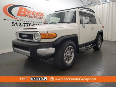 2012 Toyota FJ Cruiser for sale at Becks Auto Group in Mason OH