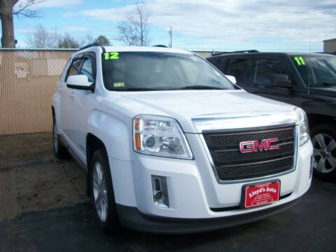 2012 GMC Terrain for sale at Lloyds Auto Sales & SVC in Sanford ME