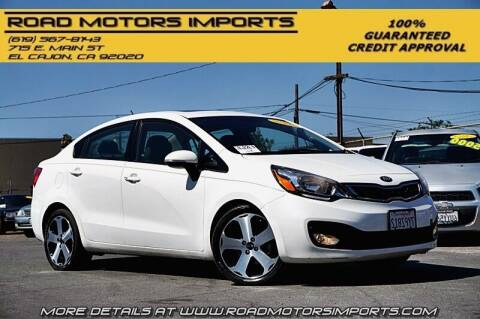 2013 Kia Rio for sale at Road Motors Imports in El Cajon CA