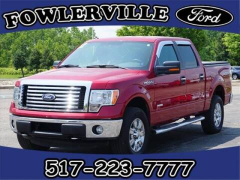 2012 Ford F-150 for sale at FOWLERVILLE FORD in Fowlerville MI