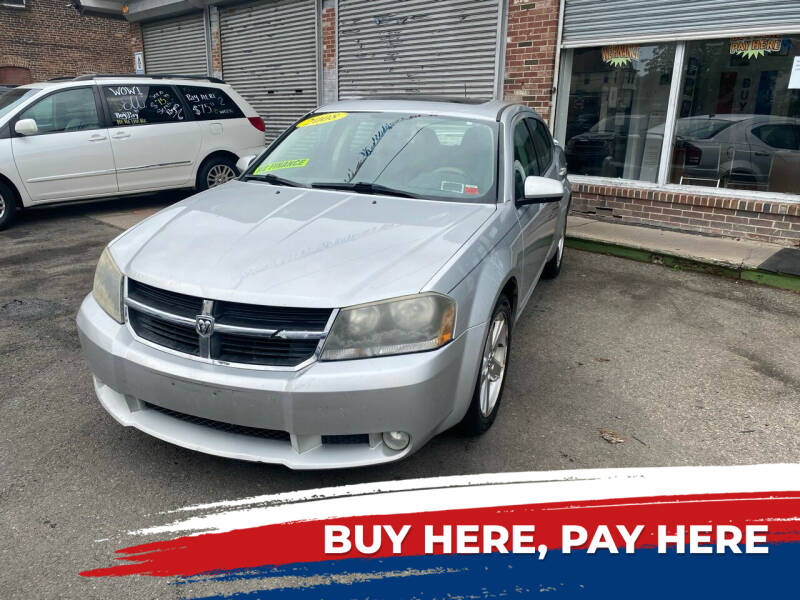 2008 Dodge Avenger for sale at Rallye  Motors inc. in Newark NJ