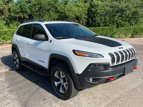 2014 Jeep Cherokee for sale at ROGERS MOTORCARS in Houston TX