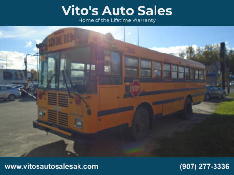 2002 THOMAS BUILT BUS for sale at Vito's Auto Sales in Anchorage AK