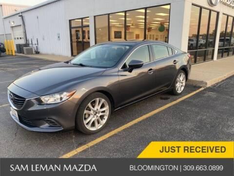 2016 Mazda MAZDA6 for sale at Sam Leman Mazda in Bloomington IL
