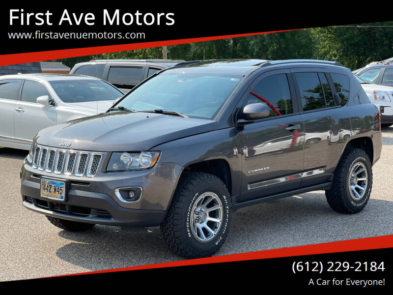 2017 Jeep Compass for sale at First Ave Motors in Shakopee MN