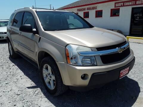 2005 Chevrolet Equinox for sale at Sarpy County Motors in Springfield NE